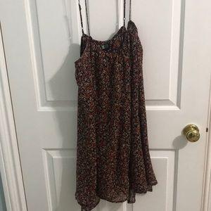 Volcom floral sun dress